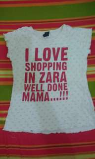 Zara kids shirt
