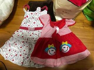 Dresses and Pyjamas