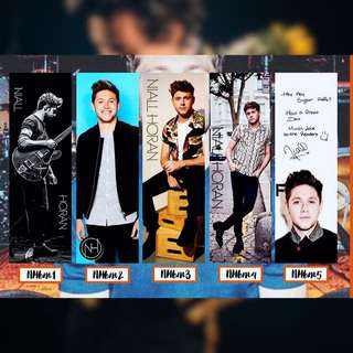 NIALL HORAN BOOKMARKS