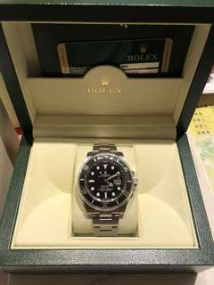 2013 年錶 , Rolex 116610LN 黑十 , 香港行貨 888 亂碼 , full set 齊格數 , 有使用花痕 , 從未打磨 可以上行驗証  有意請pm