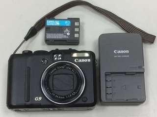🚚 Canon powershot G9 類單眼相機