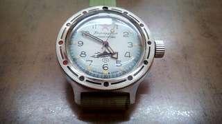 Vostok Amphibia like seiko oris rolex omega vintage watch