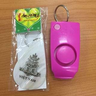 Anti-Rape Alarm Keychain