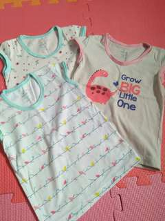 Tshirts for baby girl
