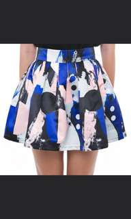 MDS Skirt in print