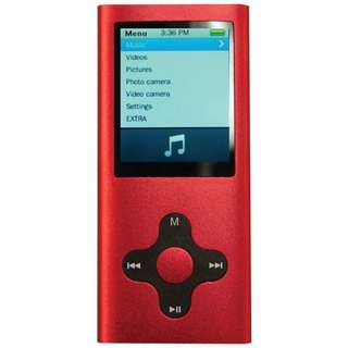 🚚 BNIB Eclipse MP3 Music and Video Player 4GB 180G2 RD RED