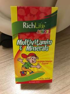 Baby Multi Vitamins and mineral