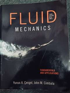 Fluid Mechanics (Yunus A. Chengel, John M. Cimbala)
