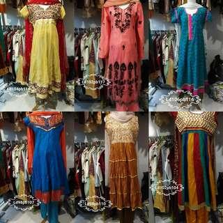 Anarkali set lengkap Murce sale today