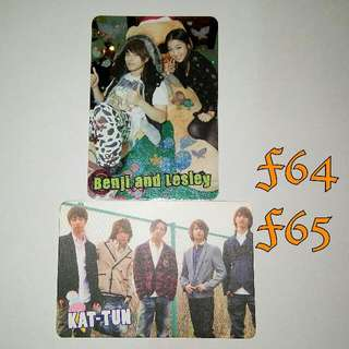 Benji and Lesley   KAT-TUN yescard