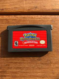 (GBA) Pokemon Mystery Dungeon Red Rescue Team
