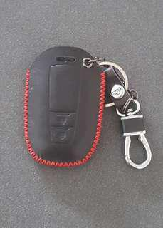 Leather casing for toyota C-HR key fob
