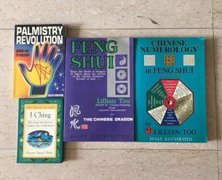 Feng Shui, I Ching & Palmistry Books