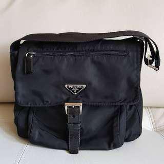 Authentic Prada Body Bag Unisex