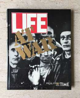 Life At War (photographs), Special Edition (hardcover book) from TIME