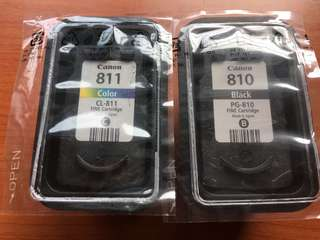 Canon Printer Ink 810 & 811