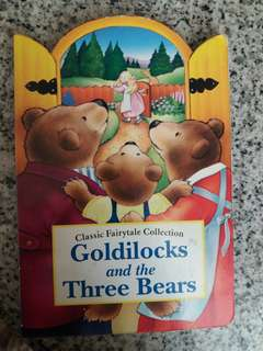 Goldilocks board book