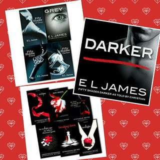 ebook bundle: Fifty Shades of Grey and Darker as told by Christian + Twilight Saga