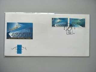 Singapore FDC Postal Code