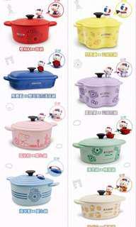 Taiwan 7-11 Le Creuset Hello Kitty Pot