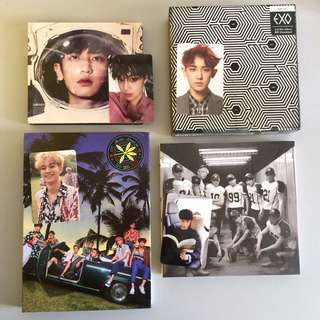 EXO's Albums: The War, Sing For You, Overdose, Love Me Right