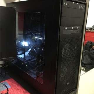 Dual Intel Xeon E5-2695 v4 (36 cores 72 threads) desktop