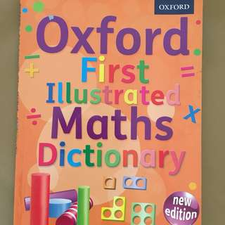 Oxford First Illustrated Math Dictionary