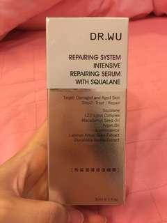 DR.WU角鯊潤澤修復精華