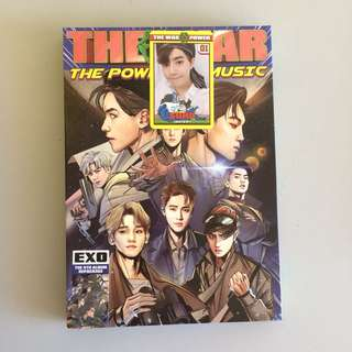 EXO's Album The War: The Power of Music