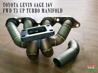 TOYOTA LEVIN 4AGE 16V FWD T3 UP TURBO MANIFOLD