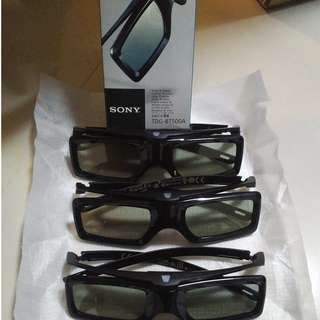 Used Sony TDG-BT500A Active 3D Glasses (4Nos.)