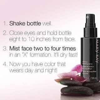 Make Up Finishing spray