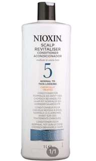 Nioxin 5 Hair Conditioner 1 Litre