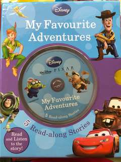 Disney Read Along Stories (with CD)
