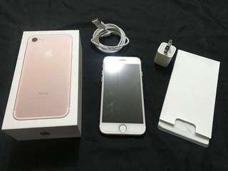ROSE GOLD IPHONE 7 32GB FU