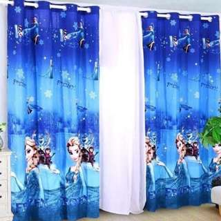 FROZEN CURTAIN with Ring 140*220 cm