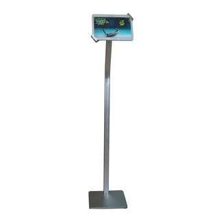 "7-10.1"" iPad tablet floor stand silver whatsapp:8778 1601"