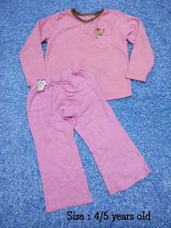 4/5 years old - Sleepwear Girl