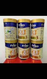 [6 tins bundle]Friso Gold Step 3 (1yrs+) 900g x 6 tins - FREE DELIVERY