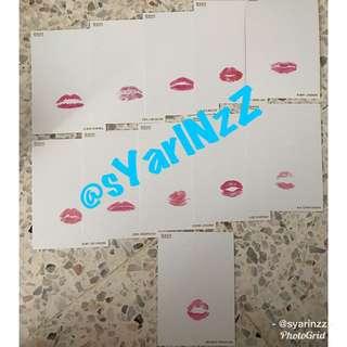 Wanna One IPU Official MD - Lip Card (1 set)