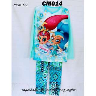 (Nett Price) Shimmer and Shine Sleepwear CM014