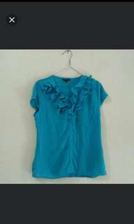 Blue blouse the excecutive