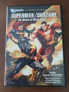 Superman / Shazman - The Return of Black Adam DVD