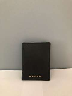 Michael Kors Passport Cover and Credit card slot