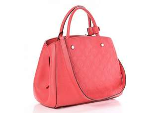 Louis Vuitton Montagine MM Poppy Epi