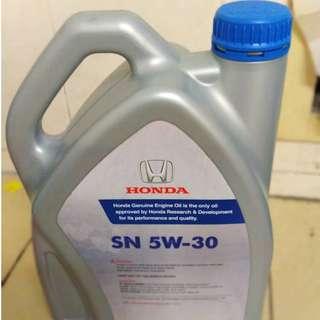 Honda Genuine Engine Oil - SN5W-30