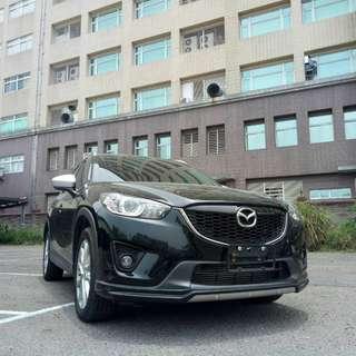 CX-5 柴油版 黑色 2014年(FB:桃園阿福_優質中古車)