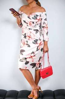 NEW ONHAND QUIN BODYCON DRESS