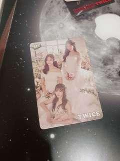 Twice Yescard