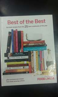 Cooking Book *BEST OF THE BEST COOKING BOOK*